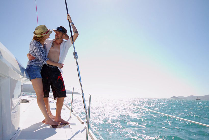 Romantic sailing getaways in the Whitsunday Islands, Queensland, Australia