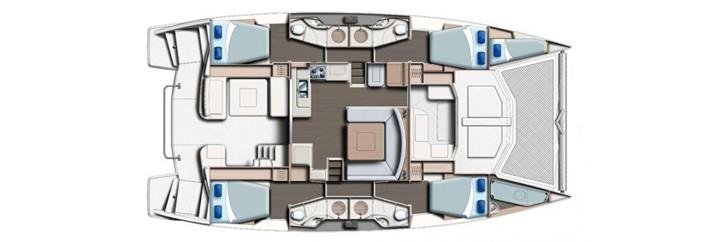 Floor plan Leopard 484