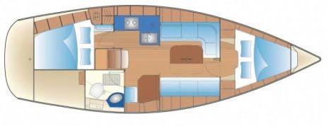 Floor plan Bavaria 34